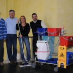 E' italiano il primo carrello per la pulizia 'ecologico'