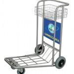 il carrello portabagagli in uso ad Orio al Serio